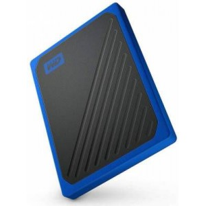 Western Digital WDBMCG0010BBT-WESN My Passport Go Portable SSD 1TB - Blue Trimming
