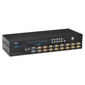 Eusso UKS8116-ROT 16-Port Ps2/USB Combo Kvm Switch