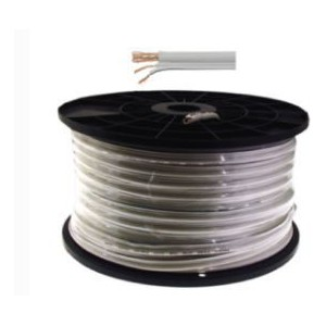 Unbranded CB10-1 RG59 Power White / 100m Cable