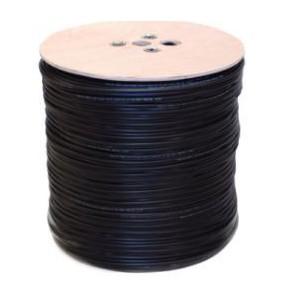 Unbranded CB10-12 RG59 Power Black / 500m