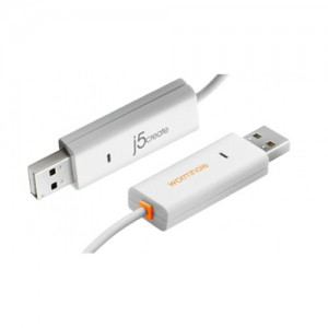 J5 Create JUC400 Wormhole Switch USB Transfer Cable