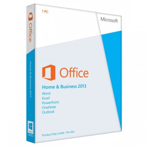 Microsoft Office Home Business 2013 DVD
