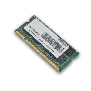 Patriot SL 2GB 800MHz DDR2 SO Dimm DS Memory
