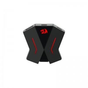 Redragon RD-GA-200 ERIS Gamepad to Mouse and Keyboard Converter Adapter with Desktop App Black