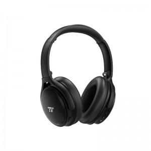 TaoTronics Active Noise Cancelling Wireless Headphones - Black