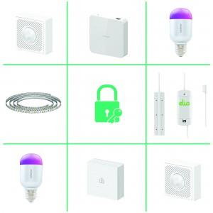 Lifesmart LSHAKL Smart Home Starter Kit Lighting