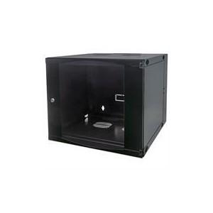 """Intellinet 713887 19"""" Double Section Wallmount Cabinet - 15U - Black"""