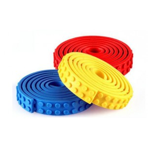LEGO Compatible Tape - 3 Pack (Blue Yello Red)