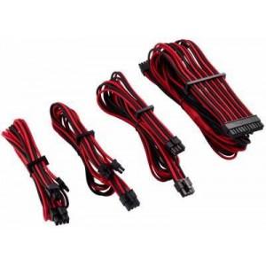 Corsair CP-8920219 Premium Individually Sleeved Red/Black PSU Cable Kit