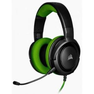 Corsair HS-CHS35-KG HS35 Black & Green Stereo Headset