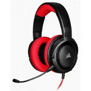Corsair HS-CHS35-KR Black & Red Stereo Headset