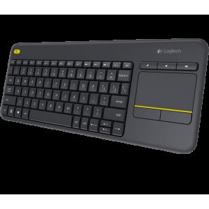 Logitech LOGI K400 920-007145 K400 Plus Wireless Touch Keyboard Multi Touch Touchpad