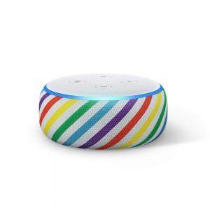 AMAZON All-New Echo Dot Kids Edition Smart Speaker 2019 Release- Rainbow