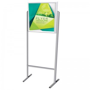 PARROT STAND POSTER FRAME DOUBLE SIDED A2 LANDSCAPE