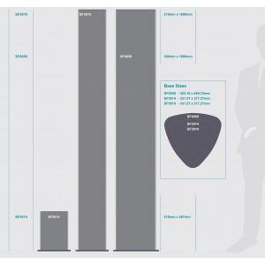 PARROT SIGN FRAME 300x1800mm TRIANGULAR TOWER