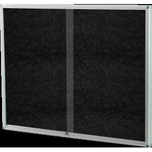 PARROT DISPLAY CASE PINNING BOARD 1200*900MM BLACK