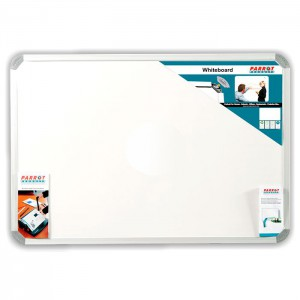 PARROT WHITEBOARD NON MAGNETIC 2400*1200MM