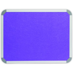 PARROT INFO BOARD ALUMINIUM FRAME 3000*1200MM PURPLE