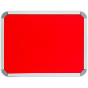 PARROT INFO BOARD ALUMINIUM FRAME 3000*1200MM RED