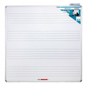 PARROT EDU BD MUSIC BOARD 1230*1230mm MAGNETIC WHITE