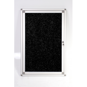 PARROT DISPLAY CASE PINNING HINGE 900*600MM BLACK