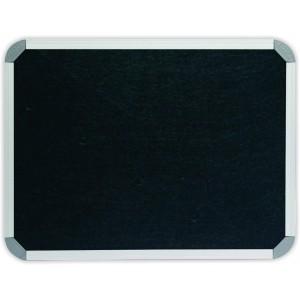 PARROT INFO BOARD ALUMINIUM FRAME 2400*1200MM BLACK