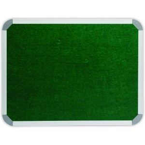 PARROT INFO BOARD ALUMINIUM FRAME 2400*1200MM GREEN