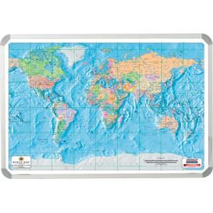 PARROT MAP - WORLD - AA 1200*900mm