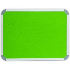 PARROT INFO BOARD ALUMINIUM FRAME 1500*900MM LIME GREEN