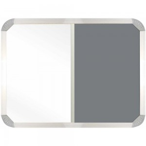 PARROT COMBI BOARD NON-MAGNETIC 900*600 MM GREY