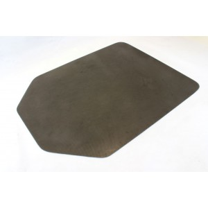 PARROT CARPET PROTECTOR NON SLIP GREY TAPERED RECTANGLE 1200 X 900 X 2.75MM