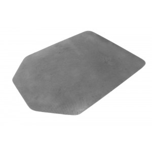 PARROT CARPET PROTECTOR NON SLIP SILVER TAPERED RECTANGLE 1200 X 900 X 2.75MM