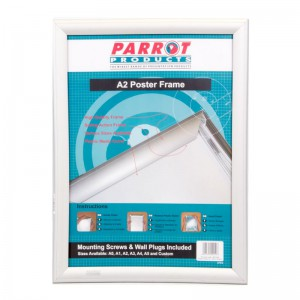 PARROT POSTER FRAME A2 655*480MM SINGLE MITRED