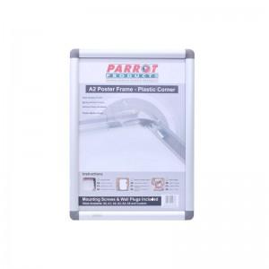 PARROT POSTER FRAME A2 655*480MM PLASTIC CORNER