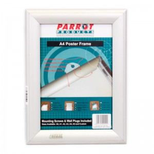 PARROT POSTER FRAME A4 360*270MM SINGLE MITRED