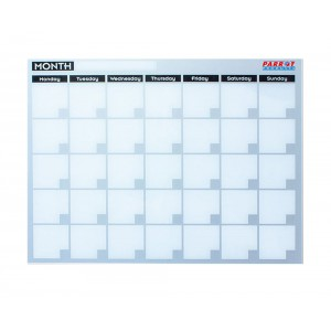 PARROT MONTHLY PLANNER CAST ACRYLIC 600 X 450MM
