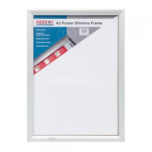 PARROT POSTER FRAME A3 450*330MM SINGLE MITRED ECONO