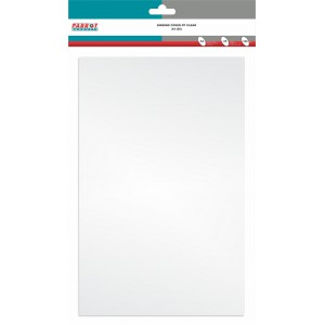 PARROT BINDING COVER PP CLEAR A4 CLEAR (PACK 25) 180MIC