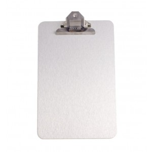 PARROT CLIPBOARD BRUSHED ALUM ACP 355*230mm A4
