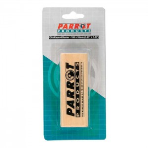 PARROT DUSTER WOOD CHALK BOARD 95*35MM Carded GREY