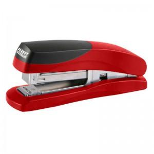 PARROT STAPLER PLASTIC MED 105x(24/6 26/6) RED 20pgs