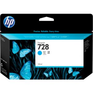 HP HF9J67A 728 Cyan Ink Cartridge For T7 830 ( 130ML )