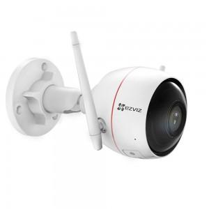 EZVIZ C3W (EzGuard) HUSKY AIR 1080p HD Outdoor Wifi Security Camera with Integrated Siren and Strobe Light