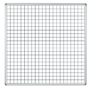 PARROT EDU BD S/LEAF 1220*1210 MAG WHITE SQUARES 1 SIDE