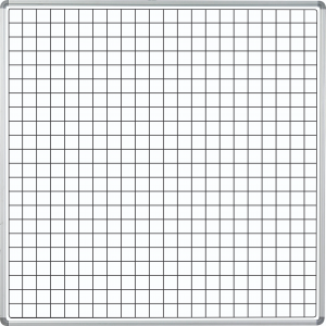 PARROT EDU BD SIDE PANEL 1220*1220 MAG WHITE SQUARES
