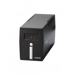 LINKQNET 800VA AVR Line Interactive UPS includes 1x 12V 9AH Battery - UPS-INT-800VA-LQ-K