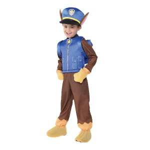Paw Patrol Kids Dress Up Costume - Chase