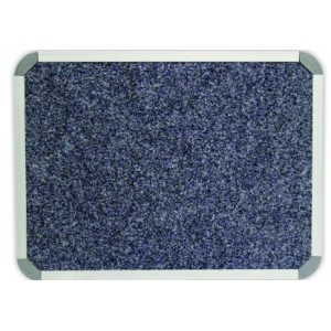 PARROT BULLETIN BOARD ALUM FRAME 2000*1200MM DENIM