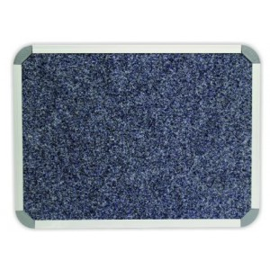 PARROT BULLETIN BOARD ALUM FRAME 1800*1200MM DENIM