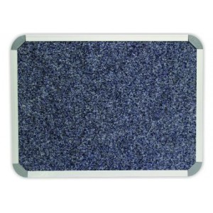 PARROT BULLETIN BOARD ALUM FRAME 1500*1200MM DENIM